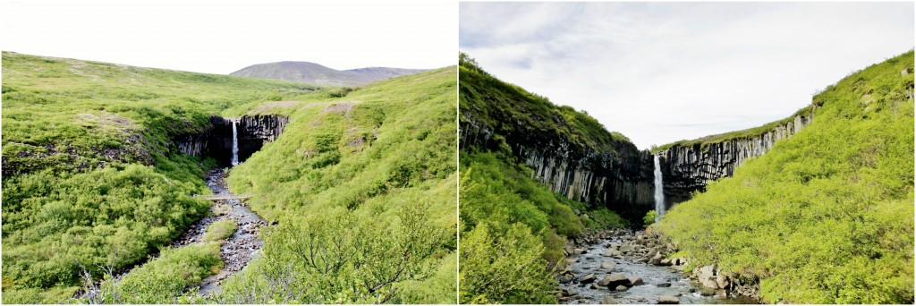 Island - Collage Svartifoss 3