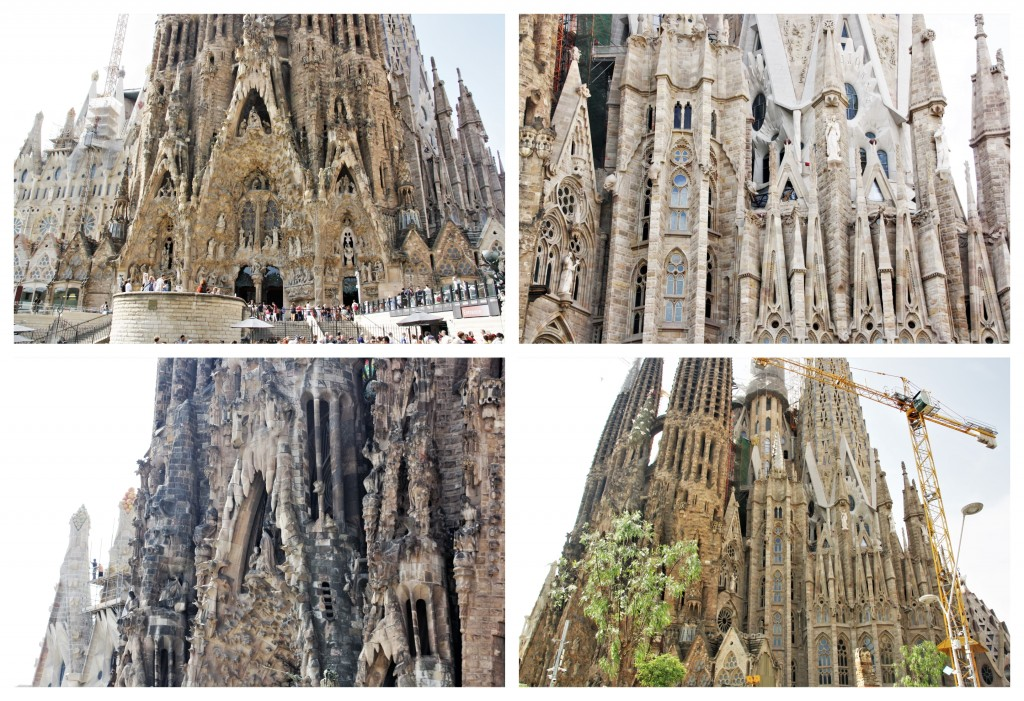 Collage Sagrada Familia 1
