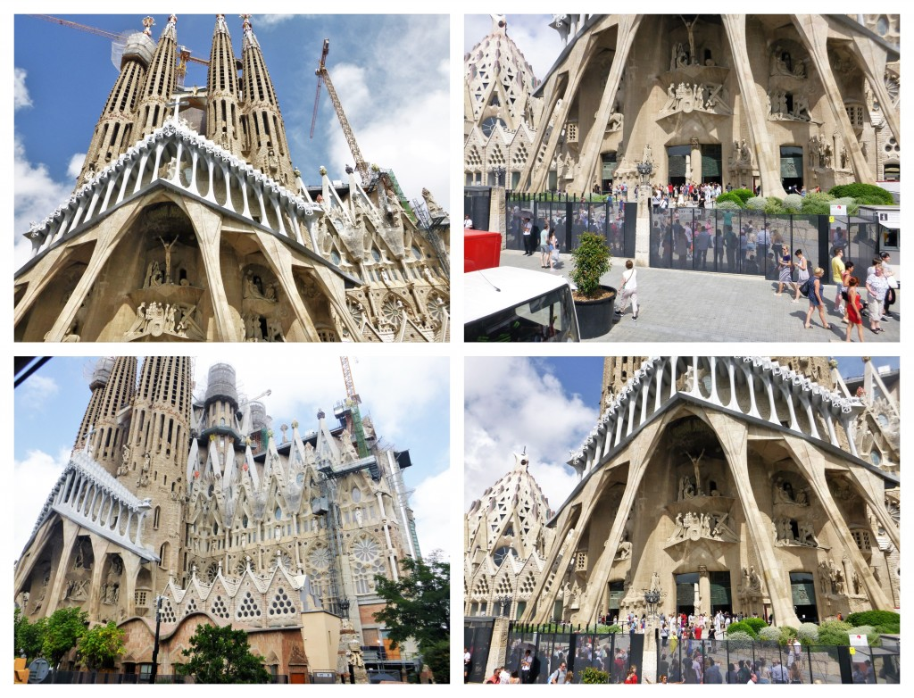 Collage Sagrada Familia 2