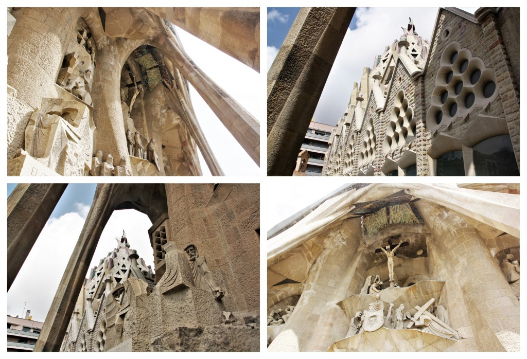 Collage Sagrada Familia 3
