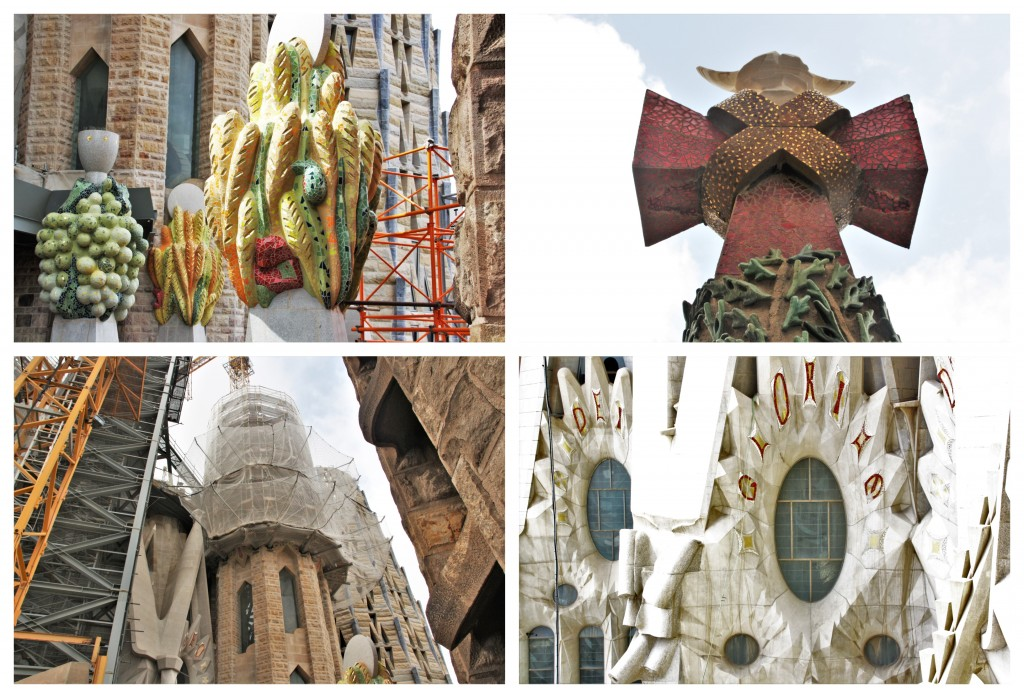 Collage Sagrada Familia 6