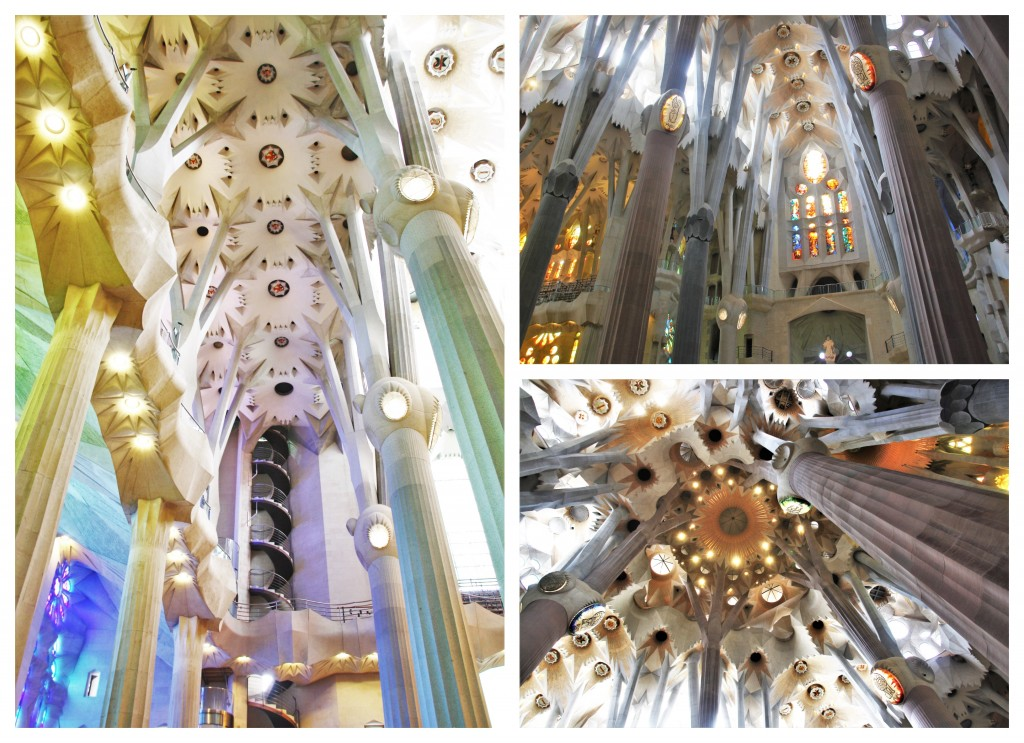 Collage Sagrada Familia 9